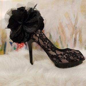 Beverly Feldman Drama Queen Stilettos, Size 6